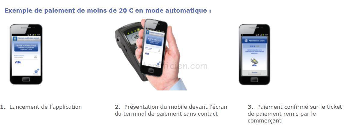 carte sans contact la banque postale France   Banque Postale Paiement Mobile Sans Contact   La