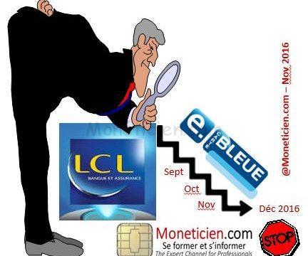 lcl e carte bleue nomade LCL arrête son service E Carte Bleue   La Monetique Bancaire
