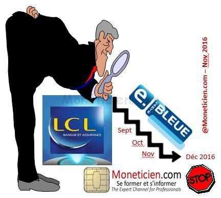 service e carte bleue lcl LCL arrête son service E Carte Bleue   La Monetique Bancaire